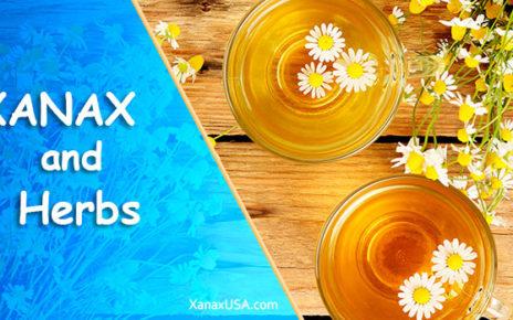 Xanax and herbs